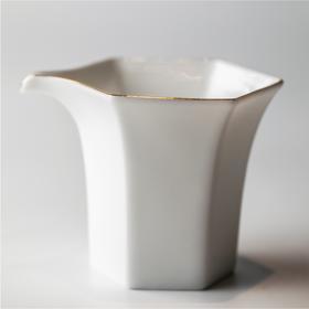 白瓷丨公道杯