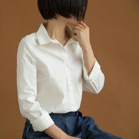休闲双层领衬衣翻领衬衣