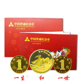 【一生一世】2013年纪念币装帧年册