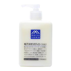 【日本直采】M-mark松山油脂柚子香身体乳 滋润保湿无添加300ml