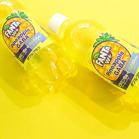 可口可乐菠萝味碳酸饮料490毫升