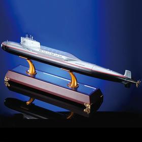 【二次核反击】 092战略导弹核潜艇模型1:200比例