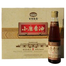 【米面粮油】百年郧府小磨香油礼盒(405ml*4)