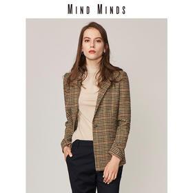 MINDMINDS 戗驳领修身版西装