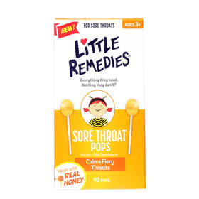 Little Remedies 蜂蜜棒棒糖