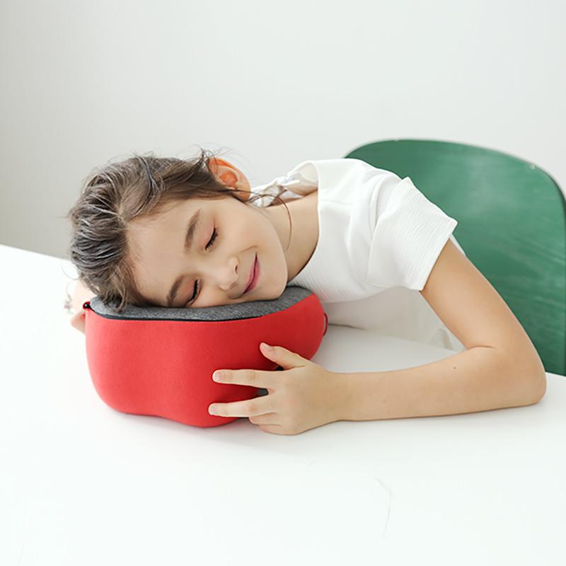 HNOS学生午睡枕午觉午休神器夏季儿童趴睡趴趴睡觉抱枕U型护颈枕