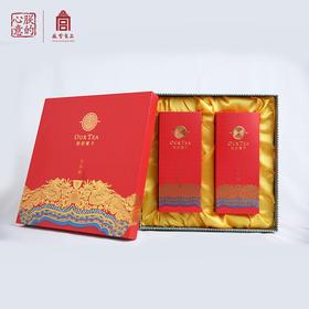 朕的心意故宫食品2018春茶大红袍肉桂茶茶叶散装乌龙茶礼盒装150g