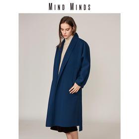 MINDMINDS 连肩袖宽松版睡衣式大衣