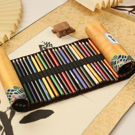 皇上圣旨诏书彩铅手绘笔晨光彩色铅笔36色中国风礼物北京特色礼品