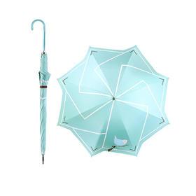 希岸知更鸟PU皮把手晴雨直伞