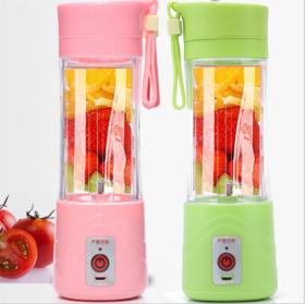 猫咪电动果汁机  USB充电小型榨汁机 便携多功能户外果汁机搅拌杯