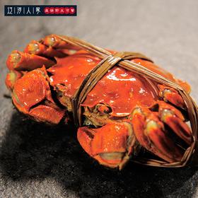 辽河人家盘锦野生河蟹-888型-母2.5-3.0公3.5-4.0共10只(公母5:5)