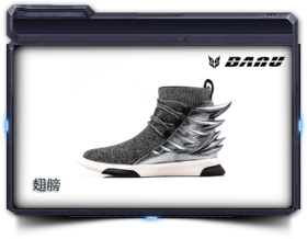 BANU潮鞋——翅膀  NF18050