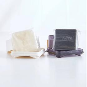 arsoa安露莎日本小黑皂/白皂洁面20g*2 送起泡网