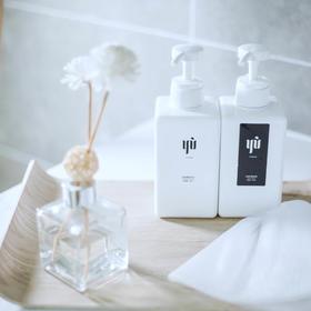 【正品育YU】控油洗护组合|六款中药科学控油|弱酸温和洗护|修护头皮老化|可直接按摩头皮的滋养素