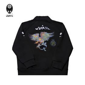 Jokii 2018aw 自由荒野鹦鹉刺绣棒球衫