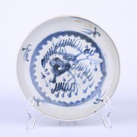 【菲集】佳士得拍品 18世纪南京船货深底青花瓷盘 海捞瓷 艺术品收藏品 跨境直邮
