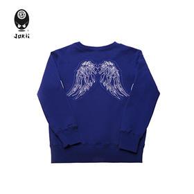 Jokii 2018aw 自由荒野翅膀刺绣卫衣