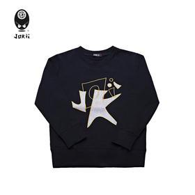 Jokii 2018aw 自由荒野字母刺绣卫衣