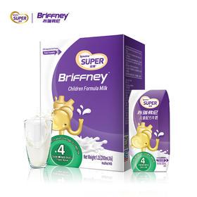 布瑞弗尼儿童配方牛奶丨法国原装智慧配方活性好吸收 |200ml*6瓶/箱【严选X乳品茶饮】