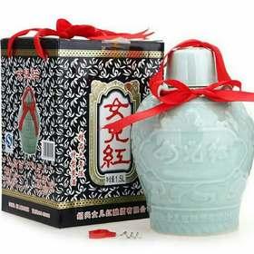 瑞安淘 绍兴黄酒 女儿红精品六年陈特型黄酒1.5L 青瓷礼盒 市区包邮