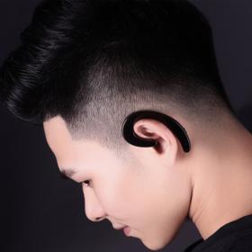 【一个无耳塞的蓝牙耳机】颠覆传统设计 Remax挂耳式蓝牙耳机 不入耳设计 久带耳朵不会痛!