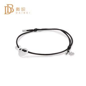 黑皮绳手链