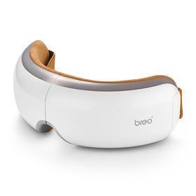 倍轻松(breo)眼部按摩仪isee4 眼睛按摩器 护眼仪眼保仪 按摩眼罩 智能气压恒温热敷多频振动