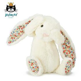 英国Jellycat 经典害羞系列网红邦尼兔毛绒玩偶宝宝安抚陪伴玩具 多款可选