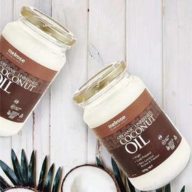 【澳洲直采】澳洲Melrose 初榨冷压天然椰子油(300g)-范冰冰同款