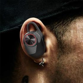 捷酷双耳无线耳机 蓝牙4.2穿墙15米远距离传输  信号稳定不断线