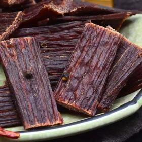 风干牦牛肉干五香麻辣味零食500g
