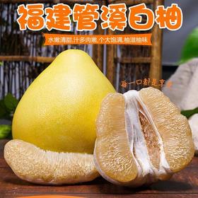 福建琯溪平和白心柚子新鲜当季水果应季白肉蜜柚5斤整箱批发包邮