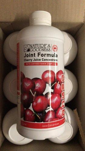 nature's goodness澳洲樱桃浓缩汁1L/500ml  樱桃降解尿酸及缓解痛风功效
