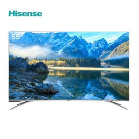 海信(Hisense)HZ55A70 55英寸 超高清4K HDR 人工智能电视 丰富资源【只支持白河本地销售】