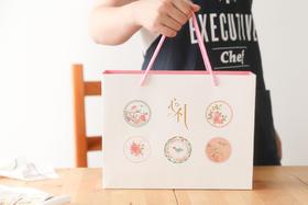 心粒月饼包装套装6粒装(125g以下适用)