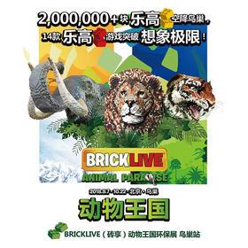 BRICKLIVE Animal Paradise Exhibition---National Stadium (Bird's Nest)