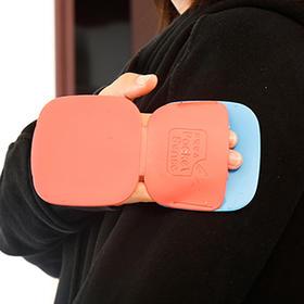 「粘毛神器 轻松去除灰尘和毛发」韩国Pocketsense美美贴衣服粘毛神器除毛贴可水洗可随身携带