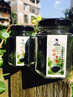 野生虫茶龙珠茶丨富含氨基酸清热解毒助消化丨80g/瓶【严选X乳品茶饮】