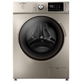 美的 MG100-1433WIDG 大容量WIFI变频智能投放滚筒洗衣机金色10kg【只支持白河本地销售】