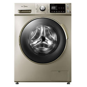 美的(Midea)MD80-1433WDG 8公斤滚筒全自动洗衣机 洗烘一体 变频一级能效 门店同款 智能静音 上排水【只支持白河本地销售】