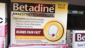 Betadine 3倍功效 咽炎片 36片澳洲直邮