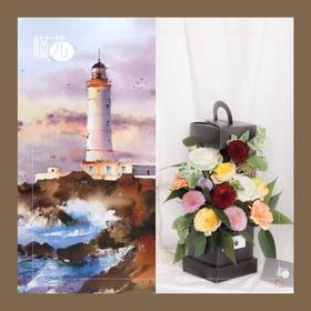 灯塔花篮:教师节亲子花艺活动,亲手做一个花篮送老师