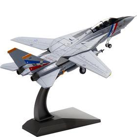 【新品】1:100F14雄猫战斗机模型丨合金仿真模型丨收藏精品丨送礼佳品