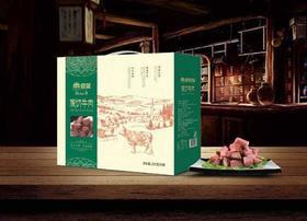 德荣牛肉王礼盒 250g*6袋/盒(3斤装) 清真  熟牛肉(暂只发武汉地区)