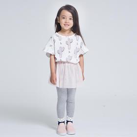 壹果Yiigoo芭蕾女孩夏款纱裙打底裤