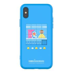 【新品驾到】哆啦A梦 卡通可爱创意拼图游戏减压磨砂苹果手机壳全包软边新款