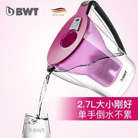 BWT 电子计次净水壶 2.7L  1壶1芯+6芯盒装