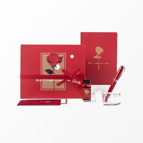 意索丨love only 玫瑰的诗钢笔礼盒