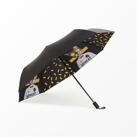 Missrain丨足球猫三折晴雨伞